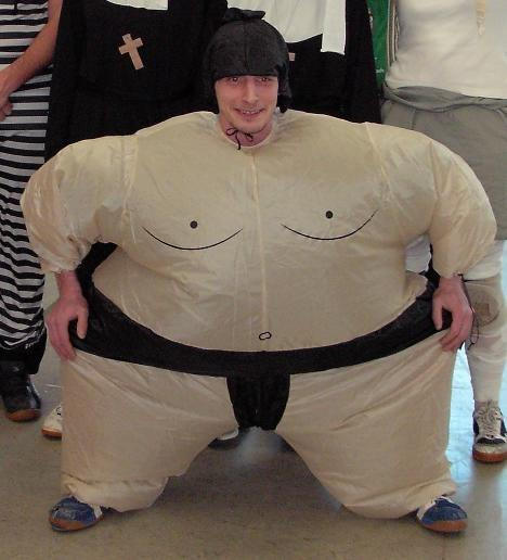 Bestes Kostüm Sumo-Ringer